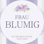 Logo FrauBlumig Webseite